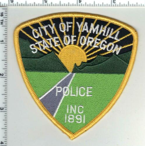 Yamhill Police (Oregon) 3rd Issue Shoulder Patch