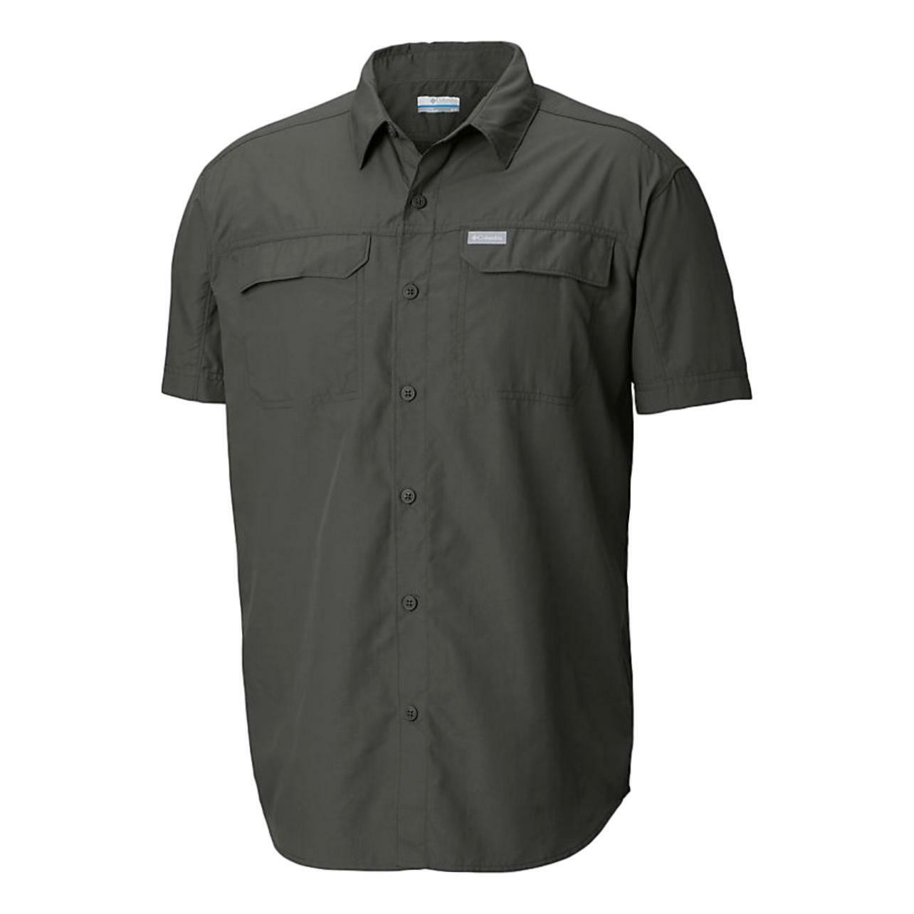 New $60 Columbia mens Kestrel Trail UPF 50 short sleeve wick