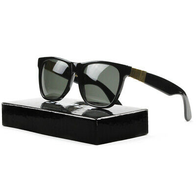 Super Classic Gianni Sunglasses NSJ Black Gold w/ Zeiss Lenses (Super Sunglasses Italy)