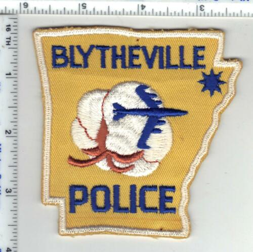 Blytheville Police (Arkansas) 2nd Issue Shoulder Patch