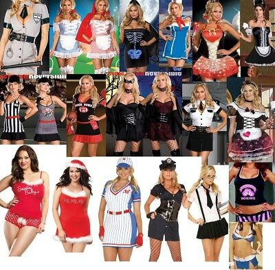 3x Costume (New Plus Size Adult Women Costume 1X/2X  3X/4X Q Queen Size Halloween Lingerie)
