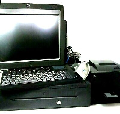 Ncr Realpos 7403 Point Of Sale Complete Touchscreen Pos System