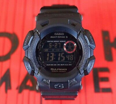 Vintage & Rare G-Shock Gulfman GW9100MB 'Men in Mat Black'