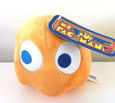 Pac-Man Plush 5 ''. Licensed. Brand New Ghost Pokey Clyde Stuffed toy. Orange, used for sale  Cape May Court House