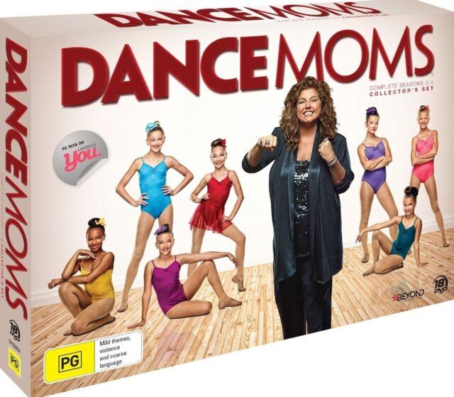 DANCE MOMS: Season 3+4 DVD BRAND NEW SEALED TV SERIES Collector's Set 18-DISC R4