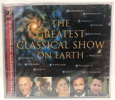 The Greatest Classical Show on Earth (1998 London 2CD set) NEW FACTORY SEALED