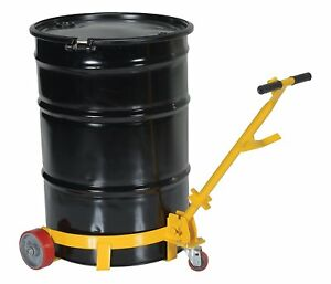 Barrel Dolly On Wheels Steel Construction Heavy Duty Easy Moving Trums S