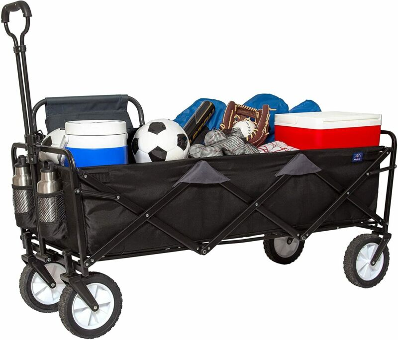 Mac Sports Xtender All-Terrain Collapsible Extended Beach Wagon - U.S.STOCK -