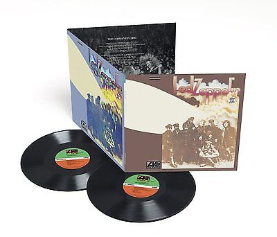 LED ZEPPELIN - LED ZEPPELIN II: REMASTERED 180 GRAM 2LP VINYL ALBUM (2014)