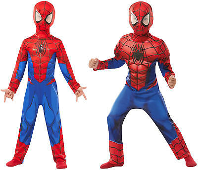 Spiderman Spider-Man Ultimate Kinder Karneval Fasching Kostüm - Spidermans Kostüm