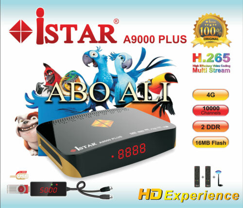 ISTAR KOREA A9000 PLUS WITH 1 YEAR ONLINE TV CODE