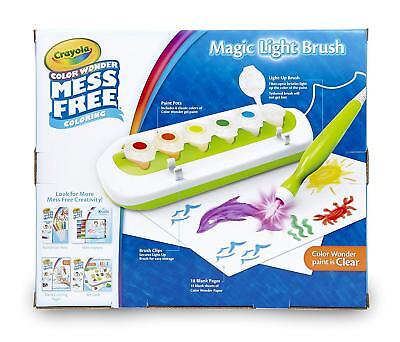 Crayola Color Wonder Magic Light Brush, Mess Free Painting, Paints for Kids