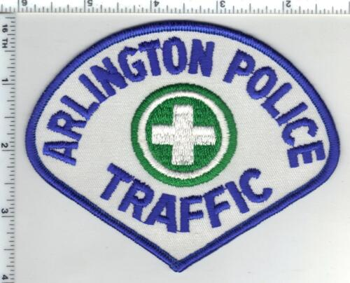 Arlington Police (Virginia) 2nd Issue Traffic Shoulder Patch