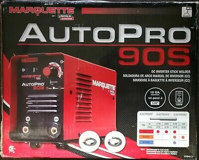 Lincoln Marquette K3290-1 Dc Inverter Stick Welder 90 Amp 120v Welds 14 Steel