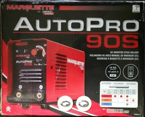 "Lincoln Marquette K3290-1 DC Inverter Stick Welder 90 Amp 120V Welds 1/4"" Steel"