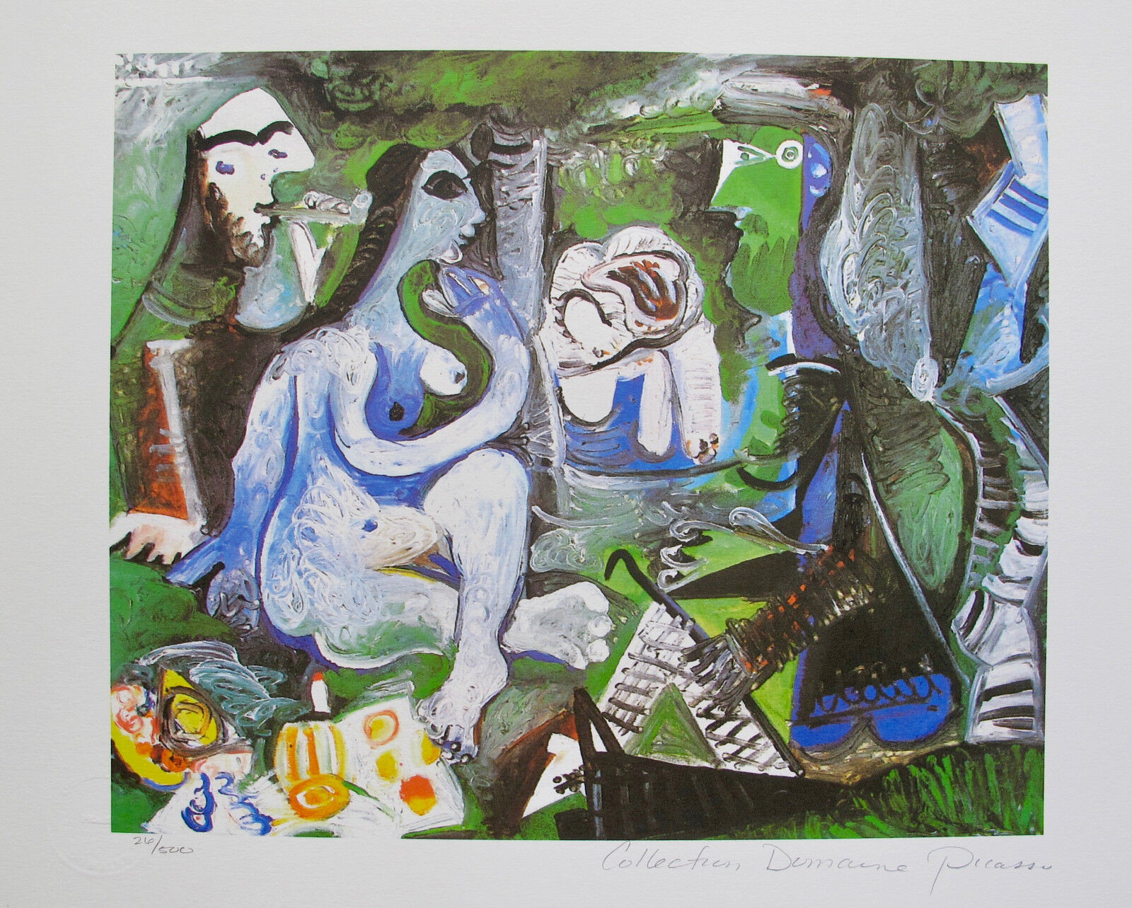 Pablo Picasso STILL LIFE Estate Signed Limited Edition Giclee Medium Size Art
