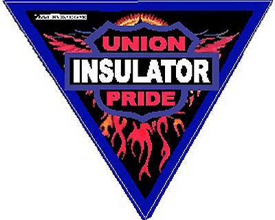 Insulator Union Pride Triangle Sticker Ci-13