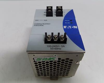 Eaton 24v 10amp Power Supply Psg240e