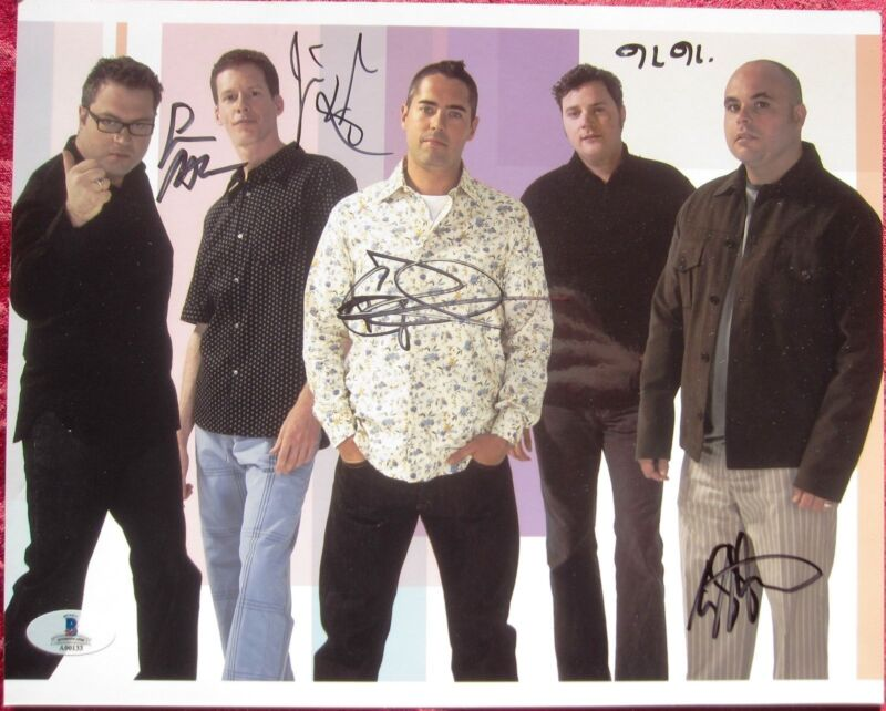 Barenaked Ladies Band 5x signed 8x10 photo Beckett BAS Authentic