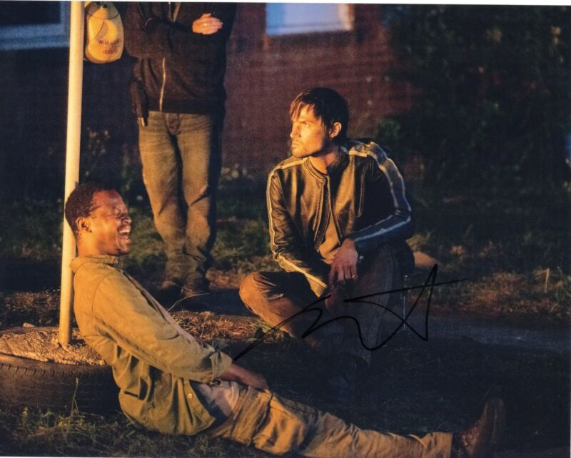 Andrew West The Walking Dead Gareth Zombie Killer Signed 8x10 Photo w/COA #1