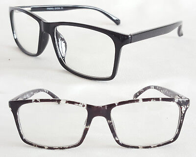 Square Marmor (Nerd Brille filigraner Square Stil schwarz marmor Damen und Herren 101)