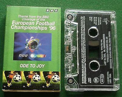 Ode To Joy Bbc European Football Championship 96 Cassette Tape Single   Tested