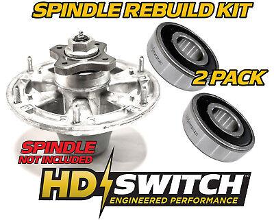(2 Pk) John Deere Ztrak 7-Iron Deck Spindle Rebuild Bearing  TCA20639, TCA17517