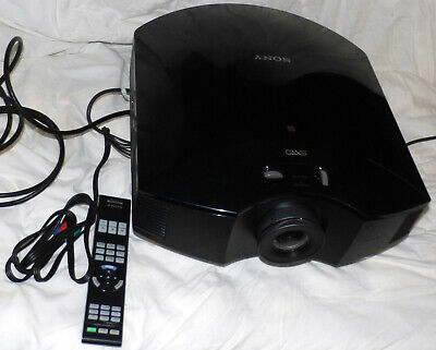 Sony VPL-HW55ES SXRD Projector 540 Hours on Lamp