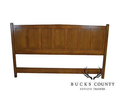 Mission Style Custom Crafted Oak King Size Headboard Mission Style Headboard