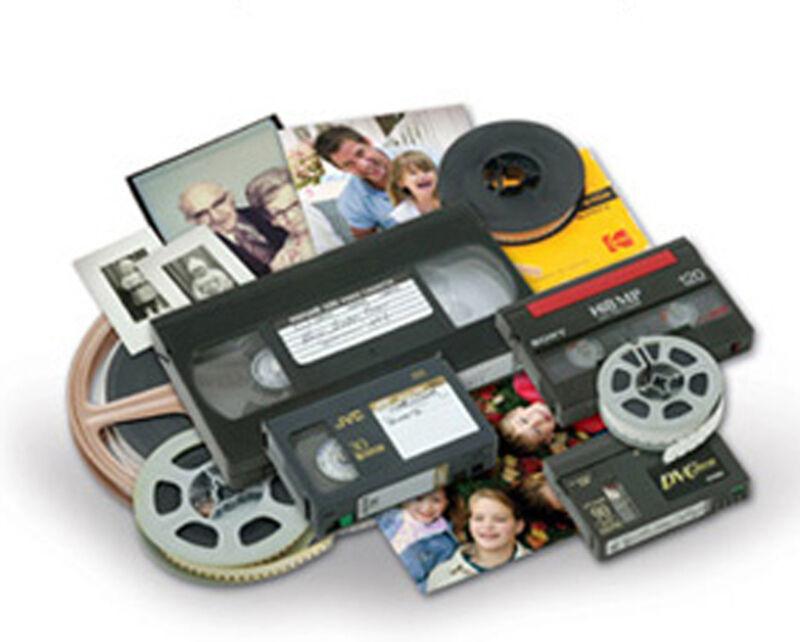 Transfer Convert VHS VHS-C Hi8 Hi 8 MiniDV video tape to DVD flat rate