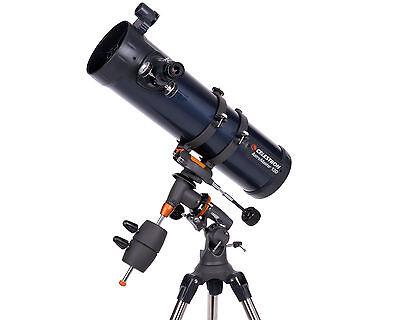 Der Celestron AstroMaster 130EQ ist ein 130mm-Newton auf einer klassischen pralaktischen Montierung.