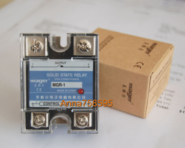 Solid State Relay SSR V DC A Heat Sink EBay - Solid state relay ebay