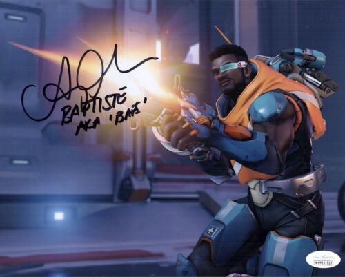 "BENZ ANTOINE Overwatch ""BAPTISTE"" Signed 8x10 Autograph Photo JSA COA"