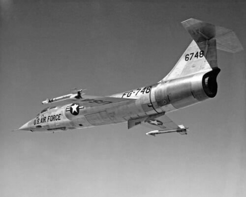 "USAF Lockheed F-104 Starfighter ((8.5""x11"")) Print"