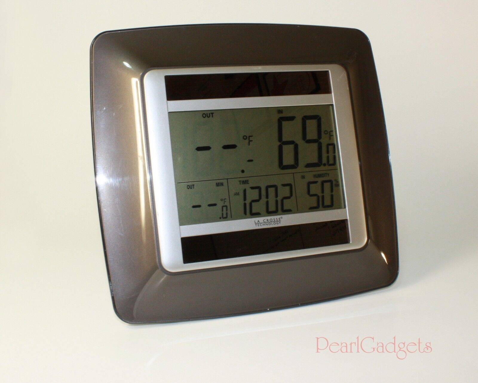 La Crosse Technology WS-8120U-IT Solar-Powered Temperature Station