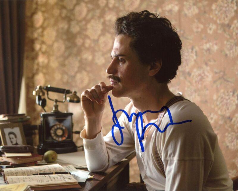 "Johnny Flynn ""Genius"" AUTOGRAPH 'Einstein' Signed 8x10 Photo ACOA"