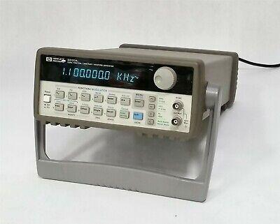 Hp Keysight Agilent 33120a 15mhz Function Arbitrary Waveform Generator Gpib