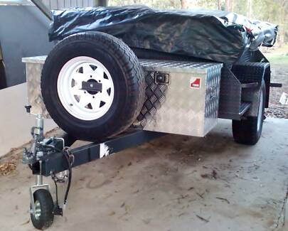 Camper trailer off road, with fully enclosed annex st/st kitchen Parkwood Gold Coast City Preview