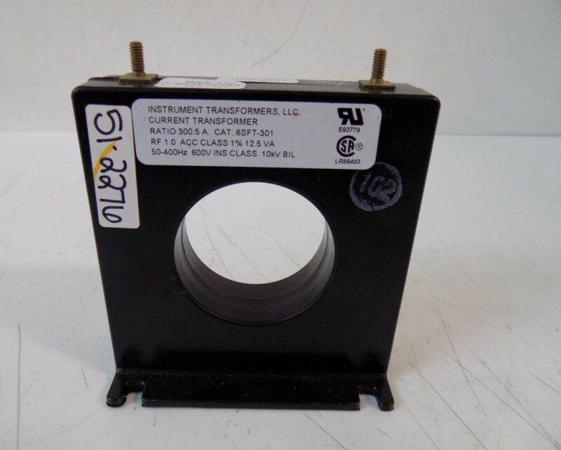 INSTRUMENT TRANSFORMERS CURRENT TRANSFORMER 300:5 RATIO 6SFT-301