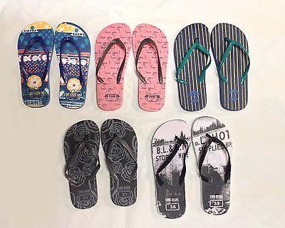 60x Flip Flops New Kids Boys Girls Jelly Flipflops Slippers Wholesale Clearance