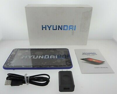 "Hyundai HT0702W08C 7"" 1024 x 600 A64 1GB 8GB Tablet Android 7.0 Nougat (Blue)"