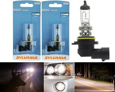 Sylvania Basic 9006 HB4 55W Two Bulbs Head Light Lamp Replace Halogen Low Beam