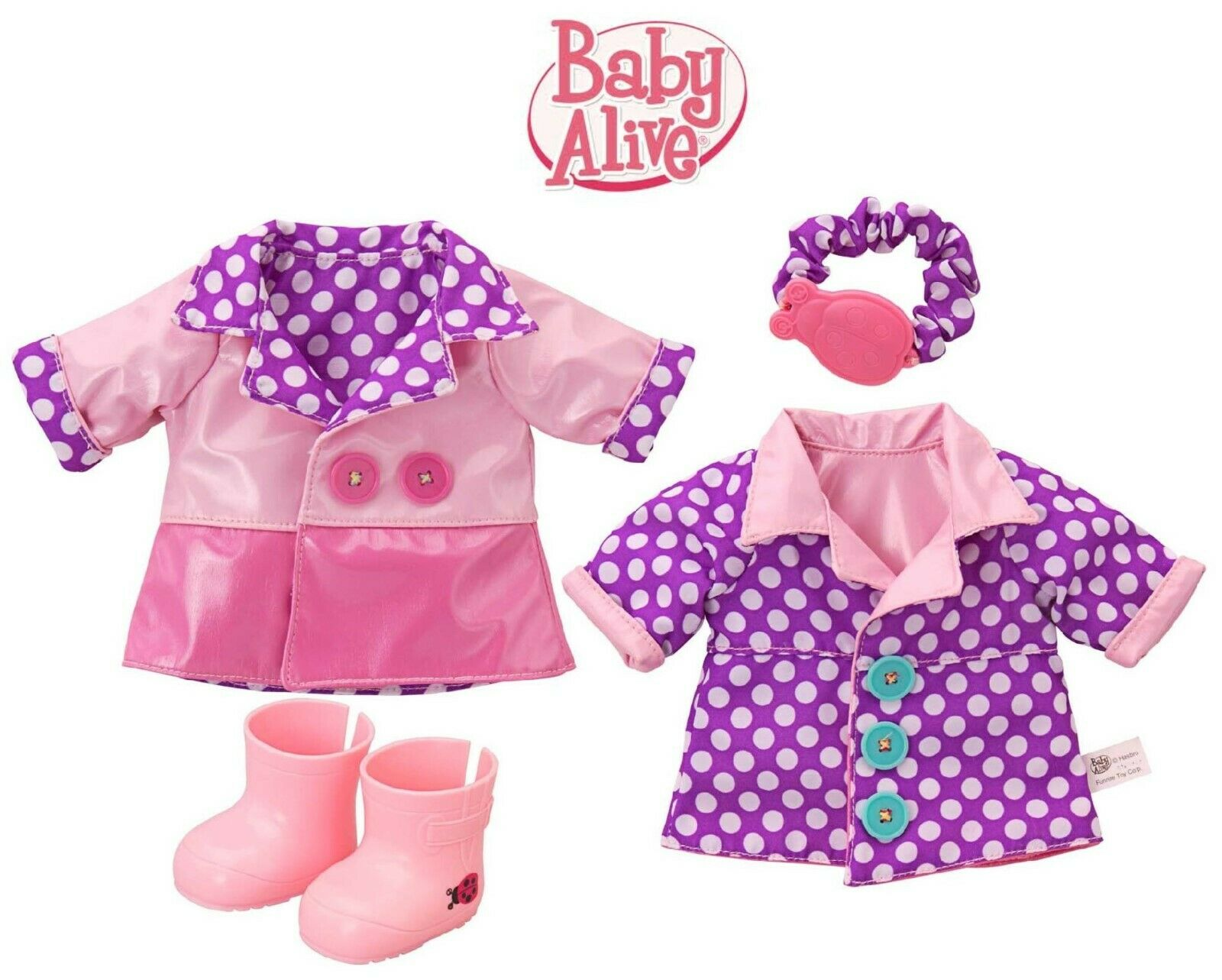 BABY GIRL HOOD RAIN COAT JACKET WINDBREAKER SUMMER SPRING MAC Raincoat 12M-6Y