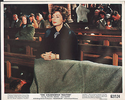 """The Counterfeit Traitor 1962 8x10"""" color movie photo #nn"""