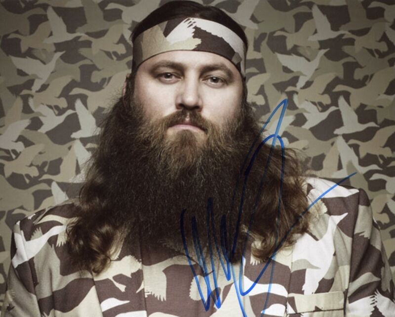 """Willie Robertson """"Duck Dynasty"""" AUTOGRAPH Signed 8x10 Photo B ACOA"""