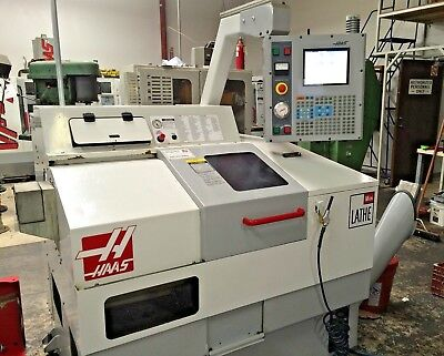 2003 Haas Mini Lathe Gang Style Cnc Turning Center 5c Collets Low Hours