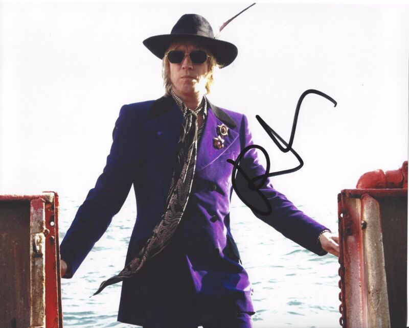 ACTOR RHYS IFANS SIGNED THE BOAT THAT ROCKED 8X10 PHOTO W/COA ELEMENTARY