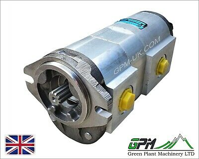 Hydraulic Pump Tandem Hi-flow For Jcb 1cx 150 165 208 208s - 20208800