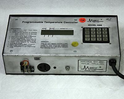Memco 4406-04 Programmable Temperature Controller Oven Kiln Jewelry Dental Lab