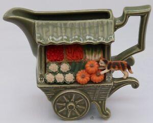 Park Rose Bridlington Vintage Ceramic Vegetable Cart Jug